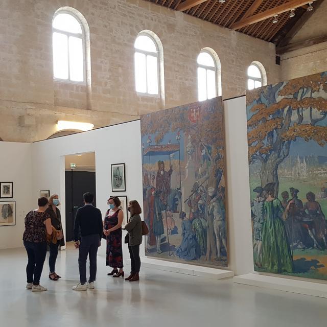 L'exposition Lucien Jonas < Arsenal < Abbaye Saint-Jean-des-Vignes < Soissons