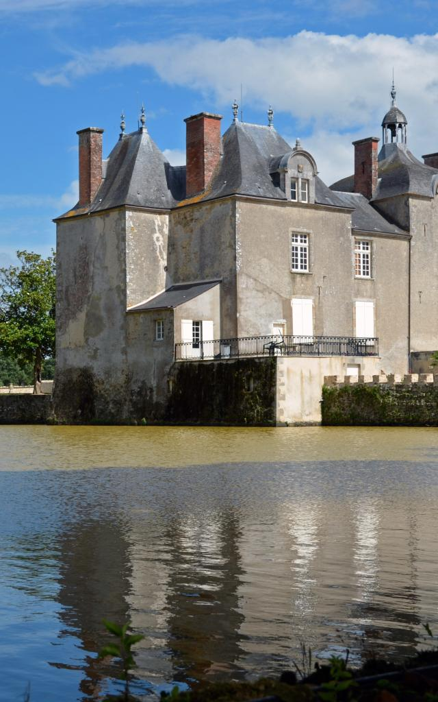 Chateau Bois Chevalier Legé Ot Sud Retz Atlantique