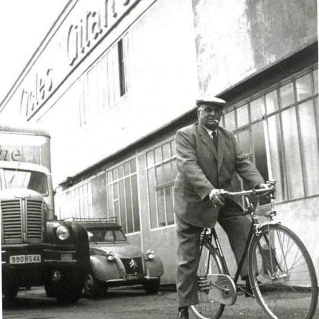 Marcel Brunelière Fondateur Gitane