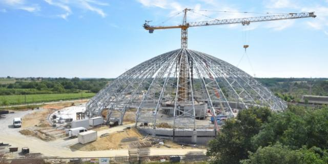 Chantier Dome 29 Juin Zoo Beauval