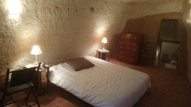 Chambre Globe Troglo Bourre Sud Val De Loire Tourisme