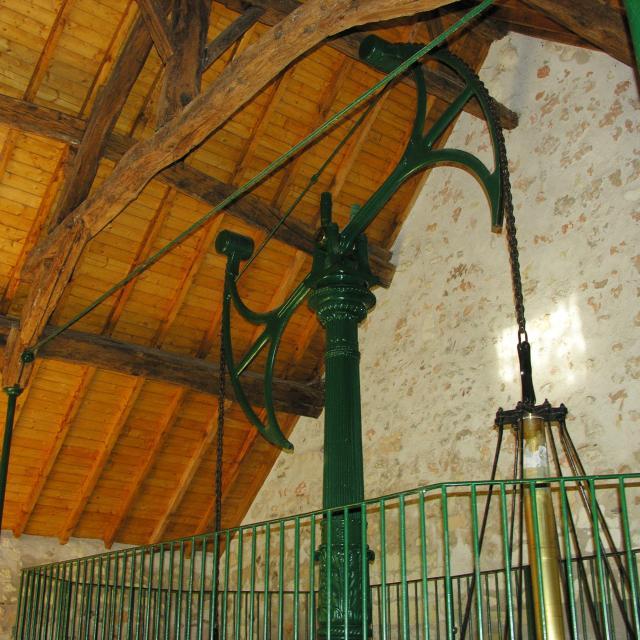 Le Balancier hydraulique à Châteauvieux