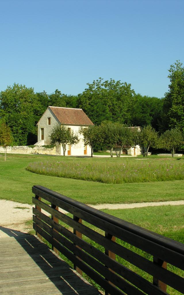 Le moulin forêt à Châteauvieux