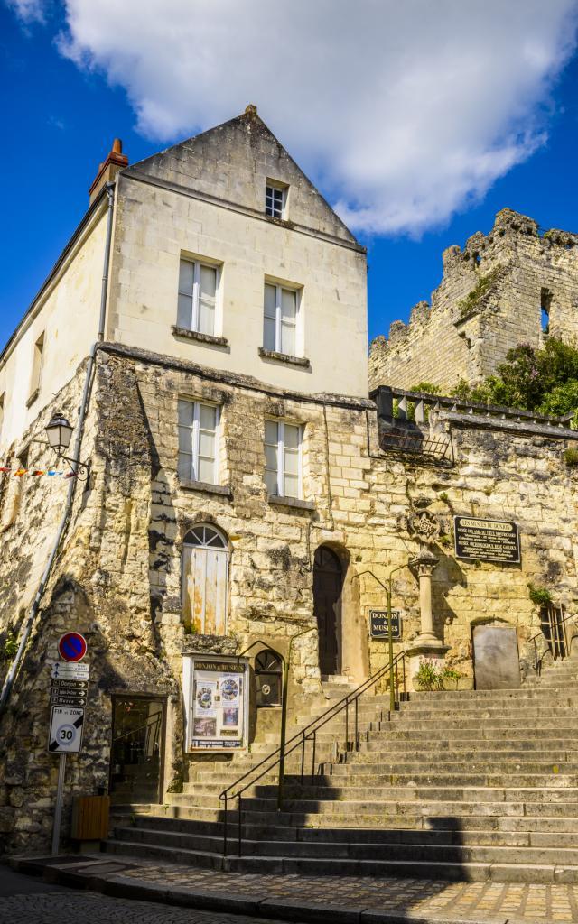 Coeur de ville de Montrichard - Accès au donjon