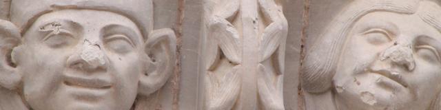 Sculptures de l'église Chateauvieux