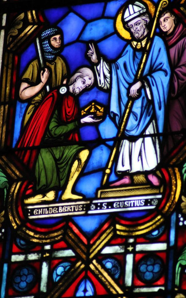 Vitrail de l'église - Selles-sur-Cher