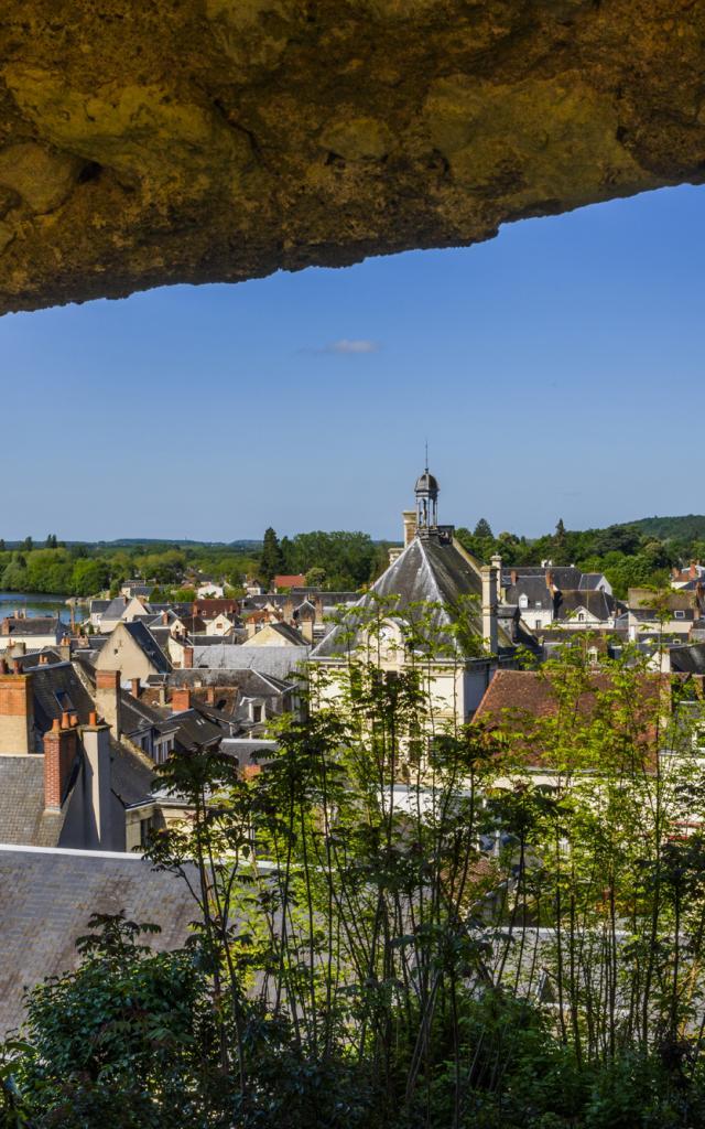 Remparts de la cité médiévale de Montrichard