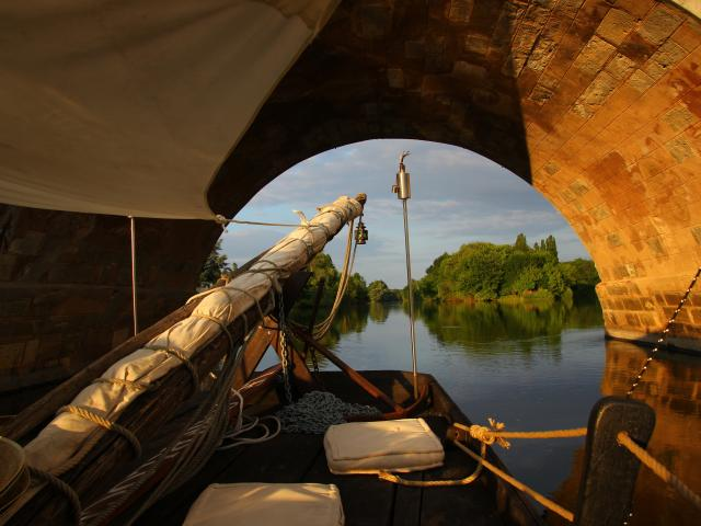 Le Sherlock, bateau promenade à Montrichard Val de Cher