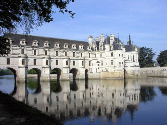 Chateau Chenonceau Val De Loire Roi France