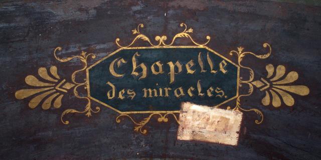 Chapelle des miracles - Collégiale de Saint-Aignan