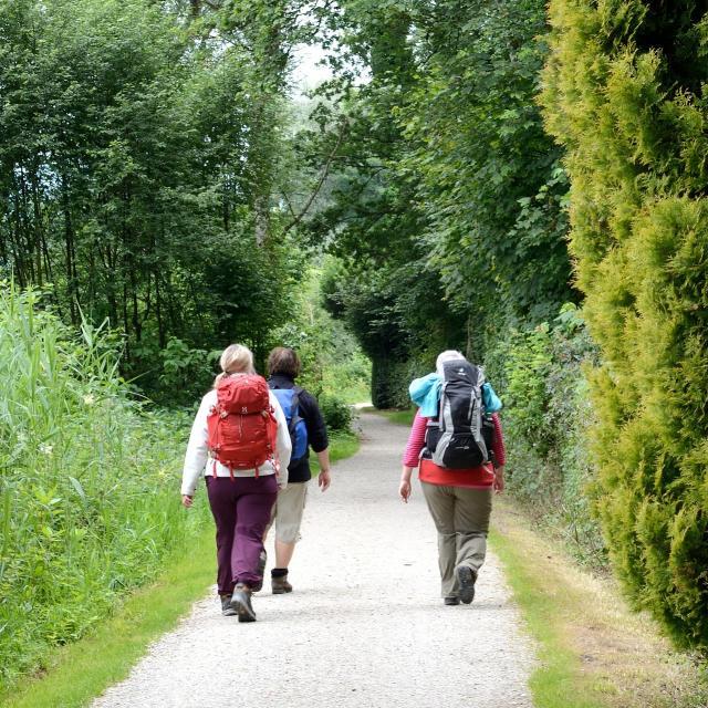 Randonnée pied en Sud Val de Loire