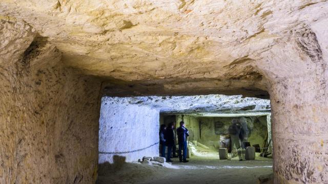 Site troglodytique - la cave des Roches à Montrichard Val de Cher