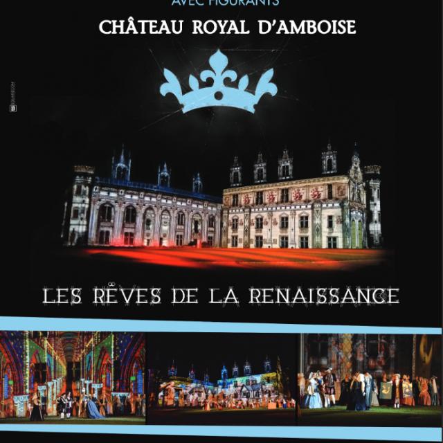 Nocturne Chateau Royal Amboise Les Reves De La Renaissance Val De Loire