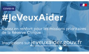 Covid 19 Lancement De La Plateforme De Mobilisation Je Veux Aider Reserve Civique Covid 19