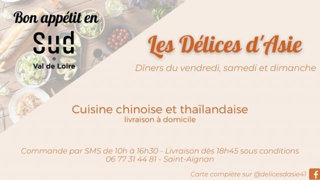 Delices Asie Saint Aignan