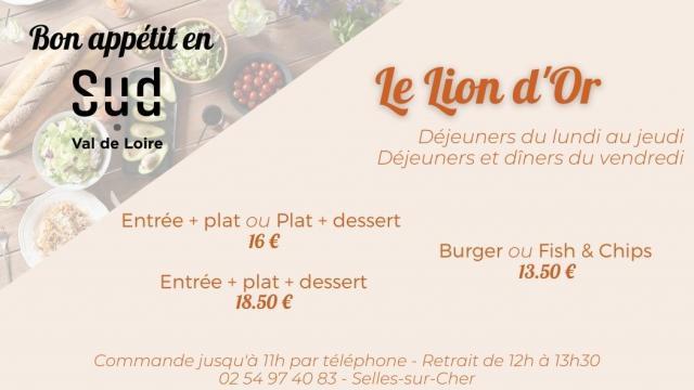 Le Lion Dor Selles Sur Cher
