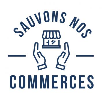Logo Sauvons Nos Commerces Solidarité Confinement