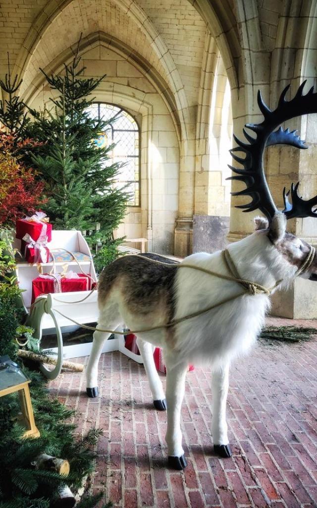 châteu d'Amboise Chateau Decoration Noel 2020