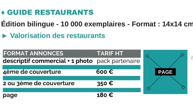 Guide Partenaire 2021 Visibilite Print Guide Restaurants