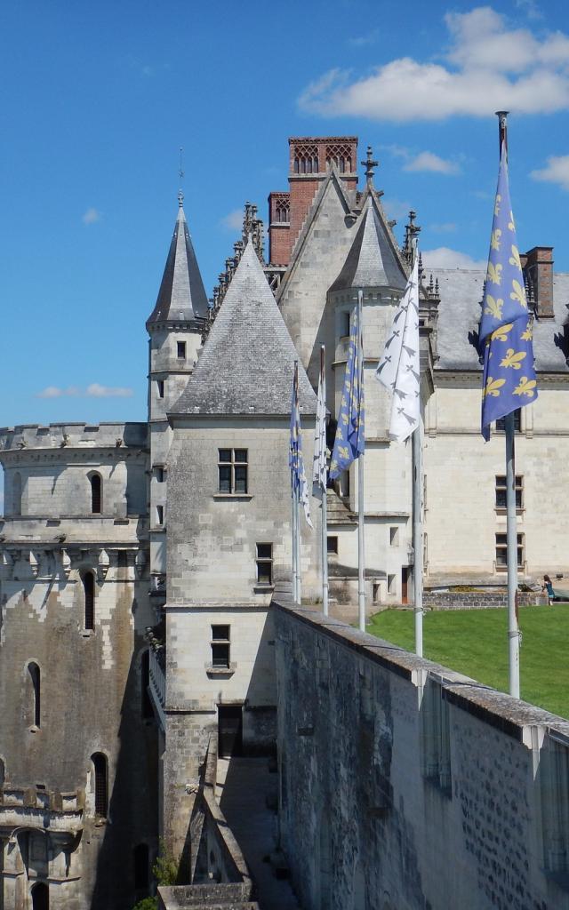Royal Chateau Of Amboise © Laure GREGOIRE Pixabay