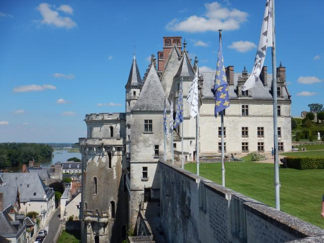 Royal Chateau Of Amboise © Laure GREGOIRE Pixabay