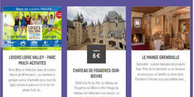 Vente Croisée Organisez Votre Sejour Val De Loire