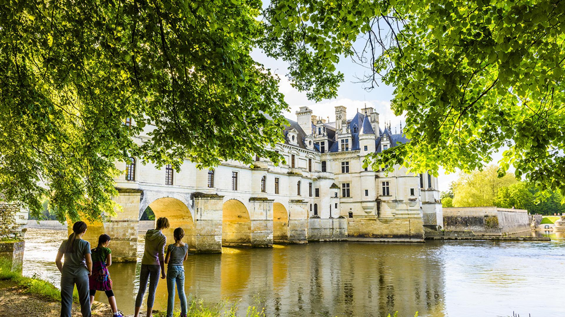 Randonnee Nature Val De Loire Chateaux Chenonceau
