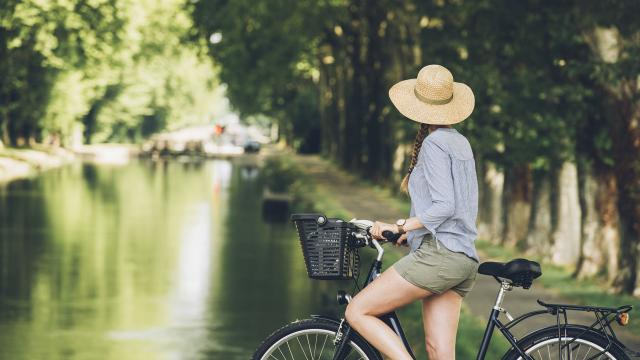 balade vélo Canal des deux mers