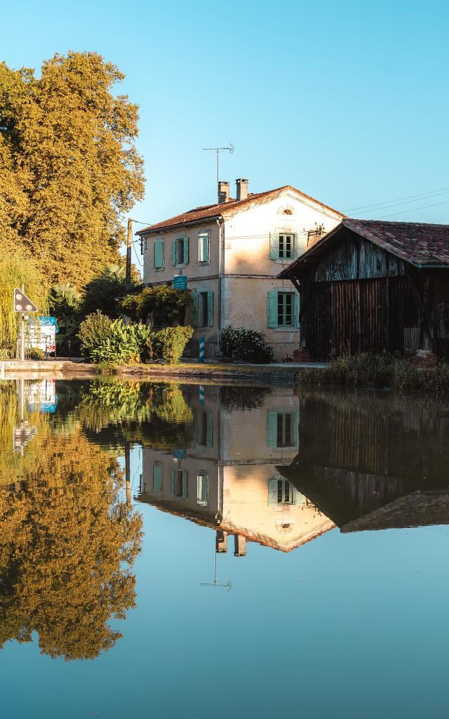 Maison éclusière sur le Canal de Montech