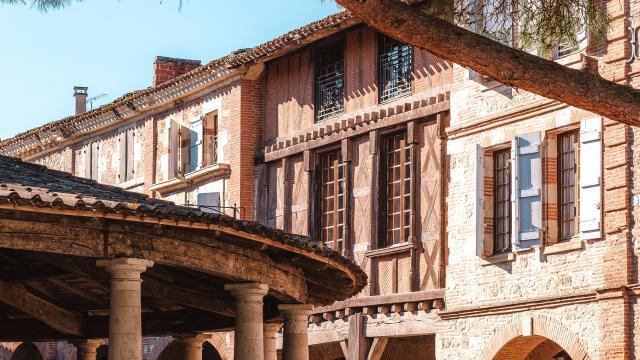 Halle d'Auvillar