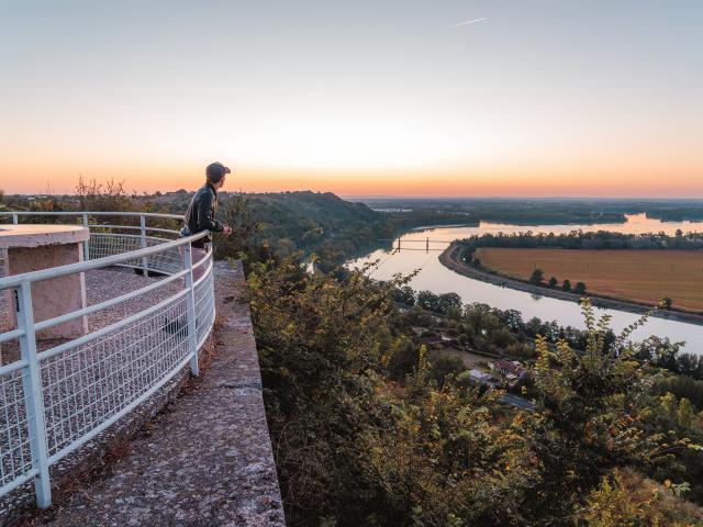 Confluent du Tarn et de la Garonne à Boudou