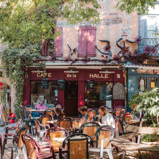 Café de la Halle à St-Antonin-Noble-Val