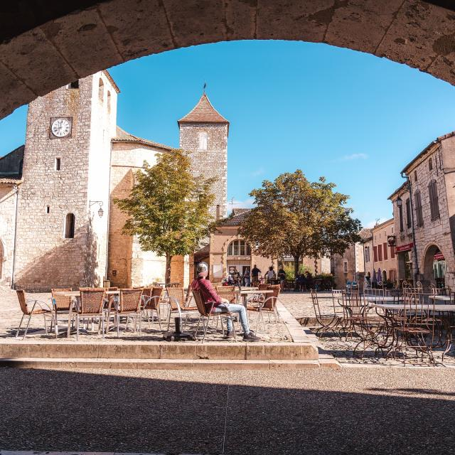 Lauzerte, classé plus Beaux Villages de France