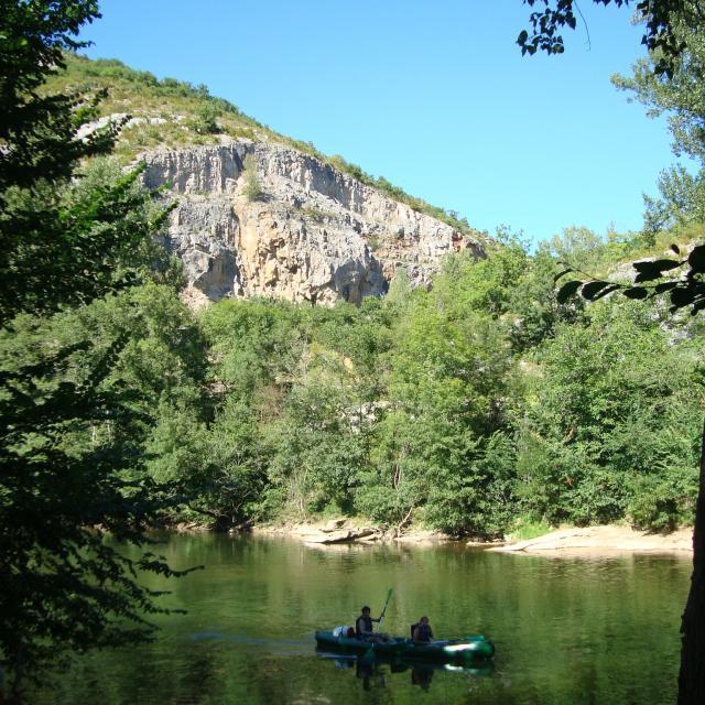 Canoe kayak Gorges de l'Aveyron Activité de nature