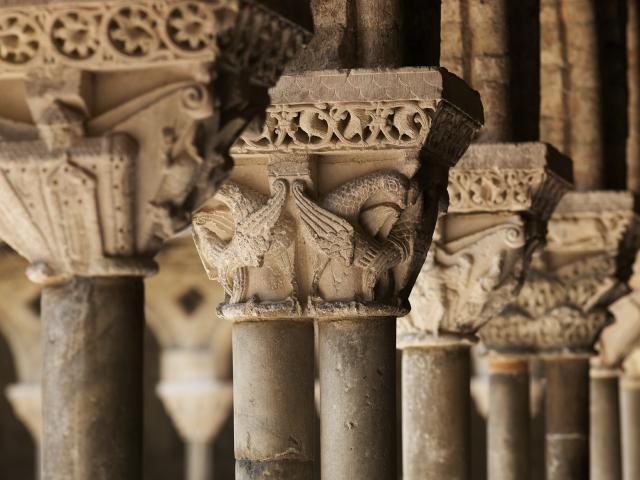 Chapiteaux du cloitre de Moissac