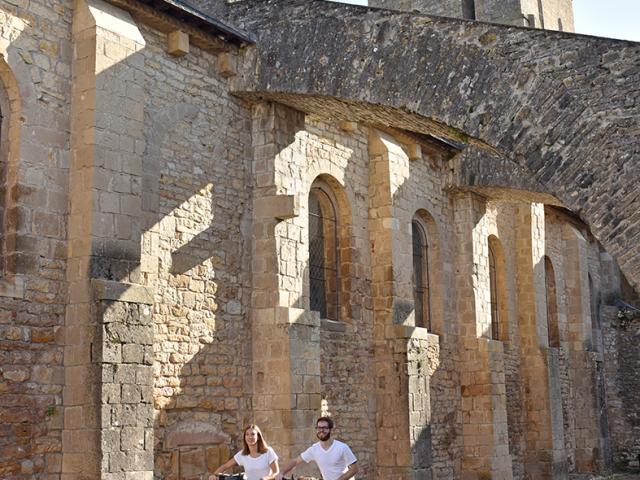 Varen - Véloroute des Gorges de l'Aveyron