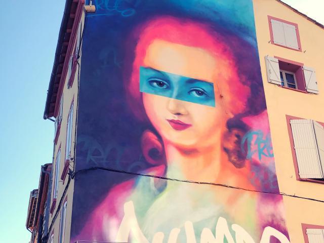 Street Art à Montauban - Olympe de Gouges féministe et révolutionnaire