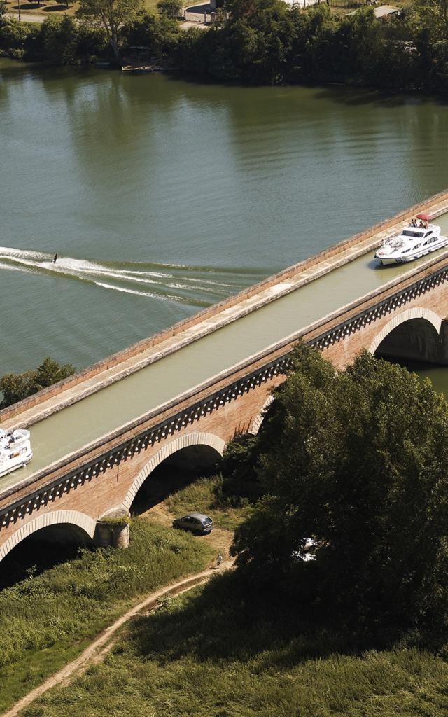 Pont-canal de Cacor à Moissac