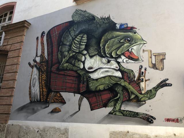 Street art 100taur
