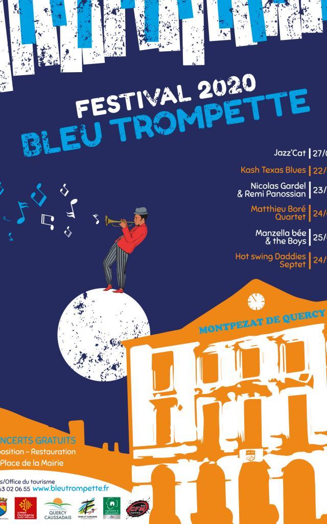 Festival Bleu Trompette Affiche2020