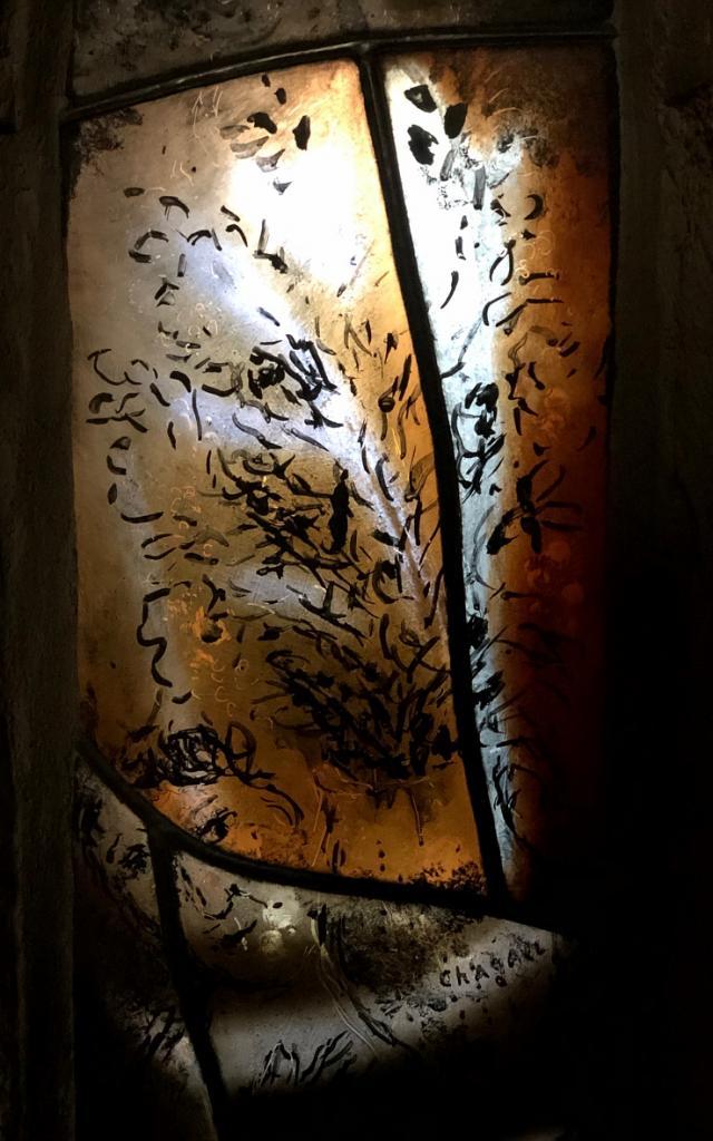 Vitrail Chagall Moissac