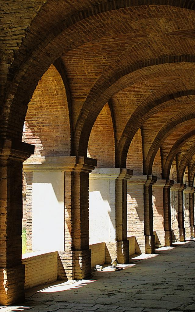 Cloître de l'Abbaye de Belleperche
