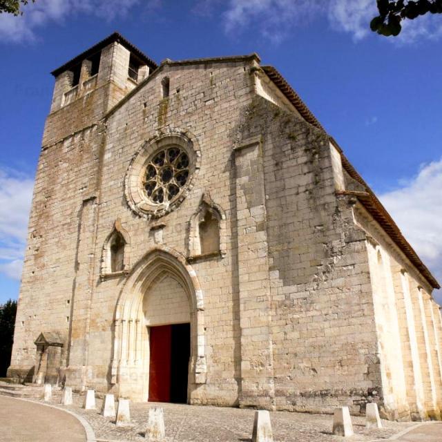 Collégiale De Montpezat De Quercy