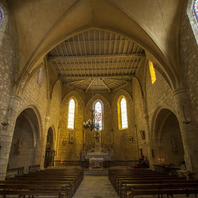Eglise de Maubec en tarn-et-garonne