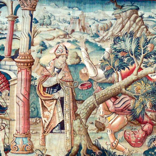 Tapisseries Flamandes Collégiale De Montpezat De Quercy