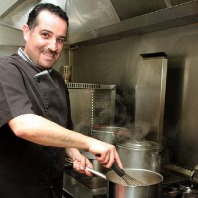 Chef Gilles Cadamuro