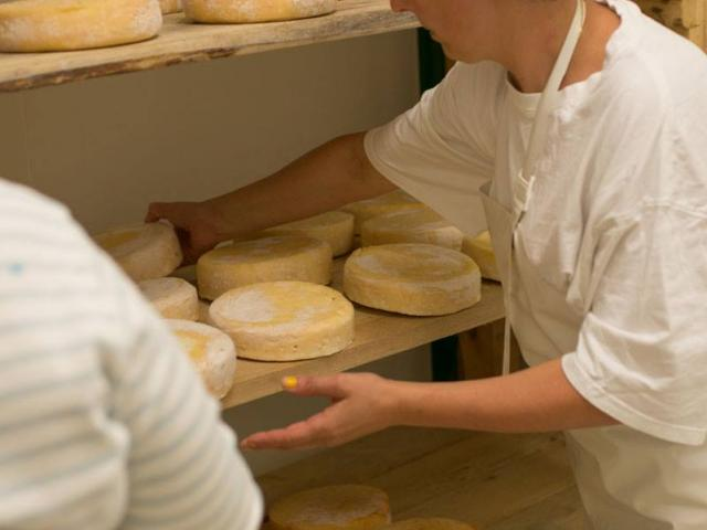 Preparation Fromages Ferme De La Brune
