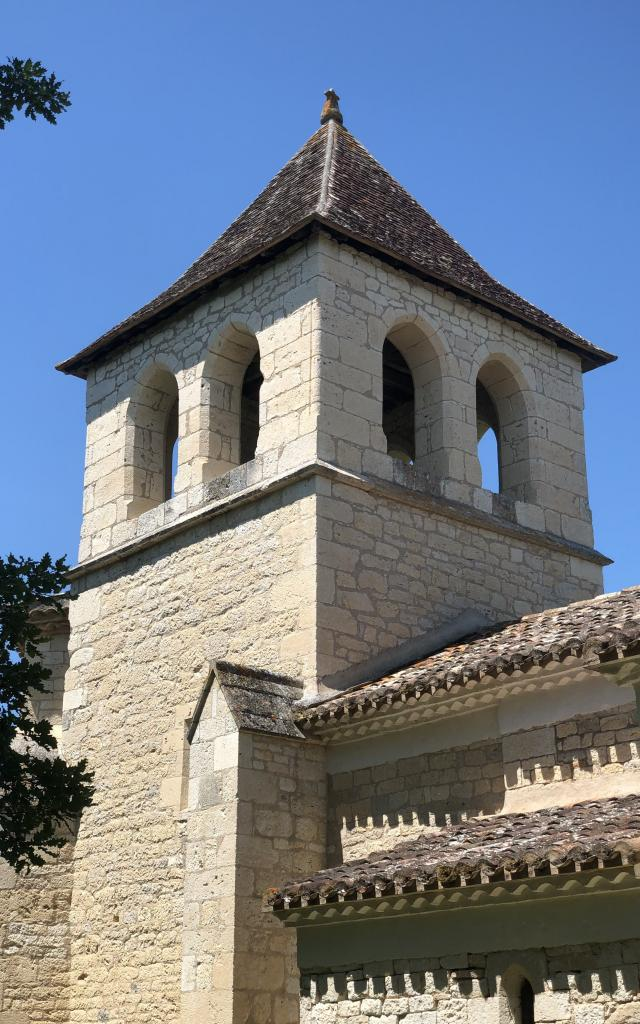 Clocher Eglise De Saux