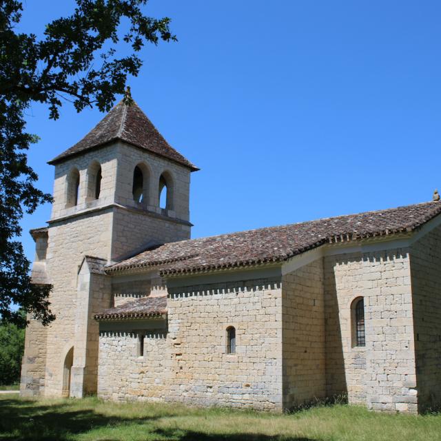 Eglise De Saux À Montpezat De Quercy