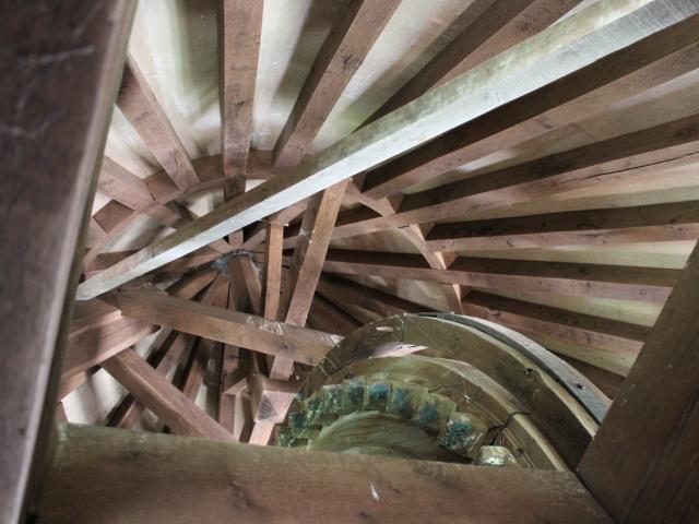 Intérieur Moulin De Saillagol